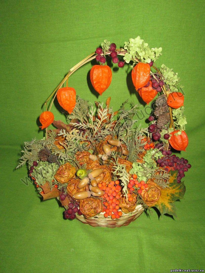 Оригинальные поделки из природного материала своими руками на тему осень